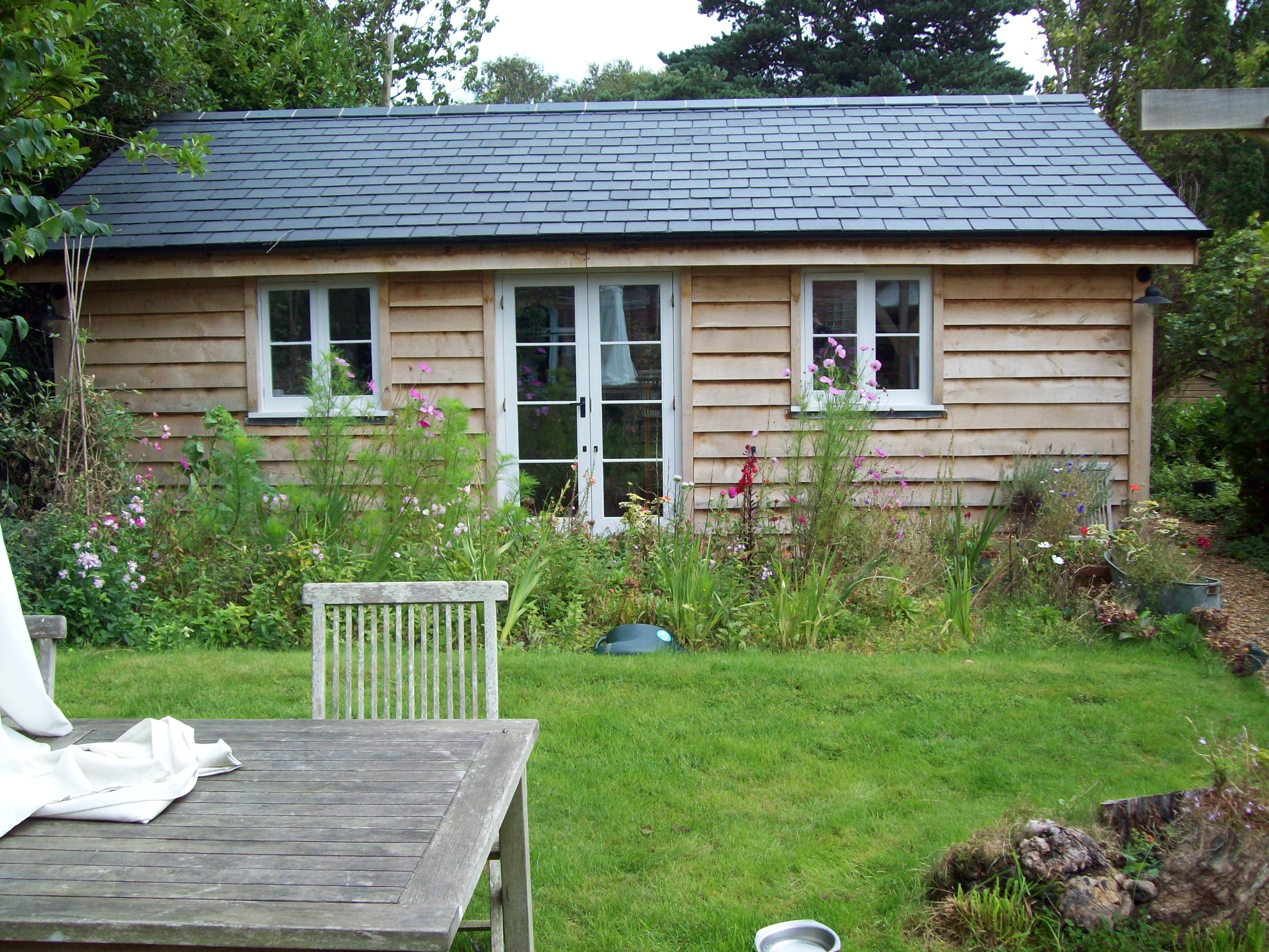 Eco build and outbuildings